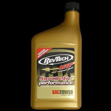 RevTech レブテック エンジンオイル GOLD【20W50】【0.946L(1クオート)】【4サイクルオイル】 エボリューションエンジン以降