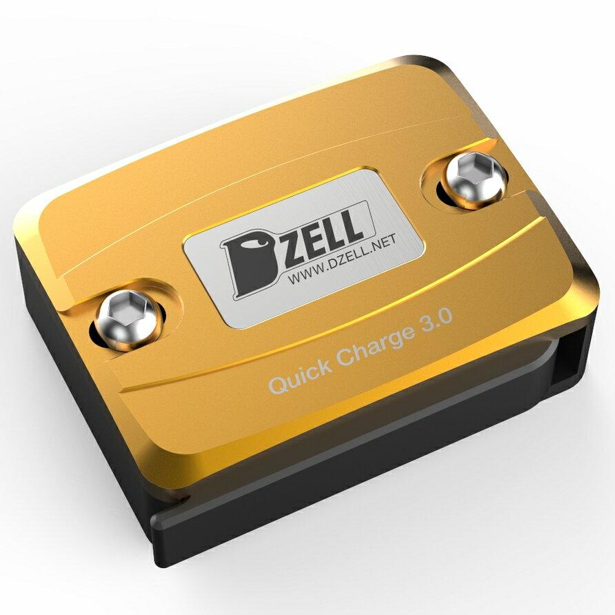 【在庫あり】Dzell ディーゼル その他電装パーツ USB ONE ポート カラー:ゴールド BWS スモールリザーブタンクサイズ/グロム/PCX ニンジャ250