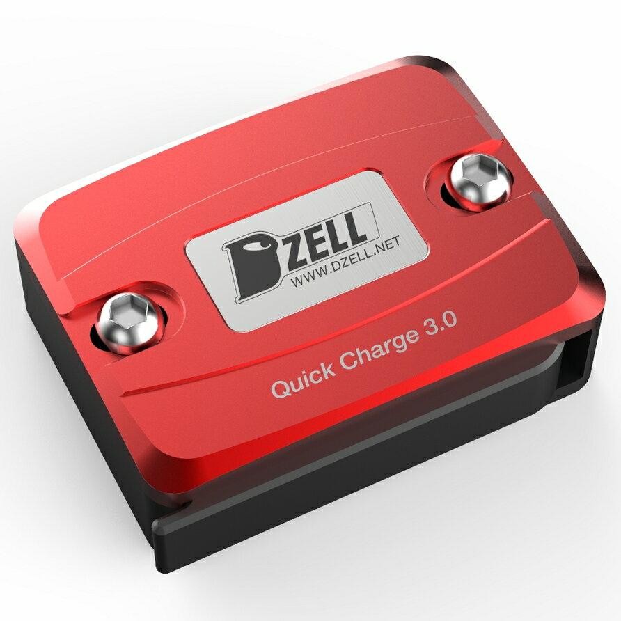 【在庫あり】Dzell ディーゼル その他電装パーツ USB ONE ポート カラー:レッド BWS スモールリザーブタンクサイズ/グロム/PCX ニンジャ250