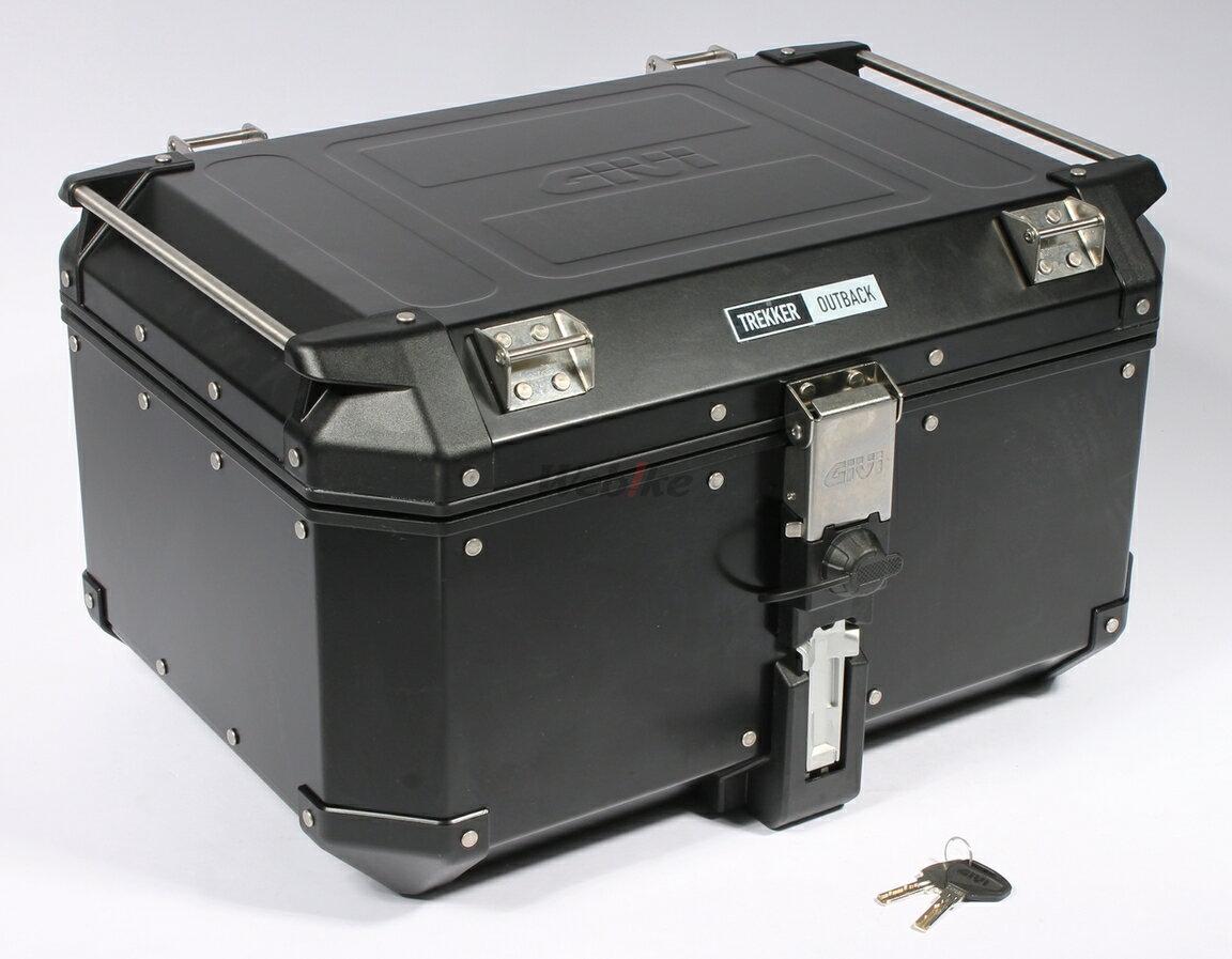 GIVI ジビ トップケース・テールボックス モノキーケース TREKKER OUTBACK [トレッカーアウトバック] シリーズ カラー:ブラックライン [OBK58BD]
