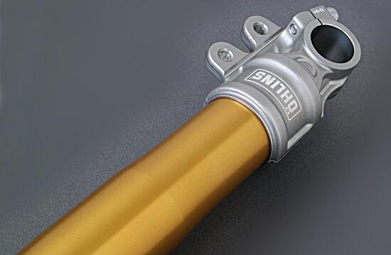 【在庫あり】OHLINS オーリンズ 正立フロントフォーク RWU カラー:ゴールド ZRX1200DAEG 2009-16
