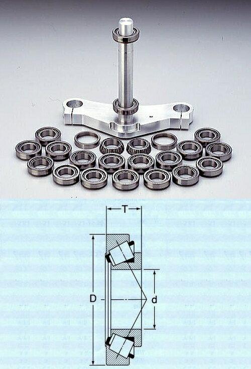 RCエンジニアリング トップブリッジ ステアリングテーパーベアリング ZX600 G1-G2 ZX-6R 98-99 : ZX-12R 00-02(前期)