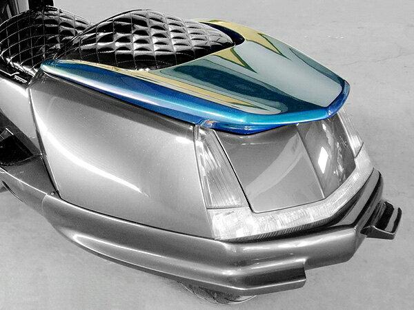 WARRIORZ ウォーリアーズ スクーター外装 マグザム用 ターボウイング タイプG カラー:ブルーメタリックC MAXAM [マグザム] (SG17J/SG21J)