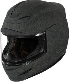 ICON アイコン フルフェイス ヘルメット バイク AIRMADA CHANTILLY HELMET [エアマーダ・シャンティー・ヘルメット]【BLACK】 サイズ:L(59-60cm)
