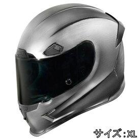ICON アイコン フルフェイス ヘルメット バイク AIRFRAME PRO QUICKSILVER HELMET [エアフレームプロ・クイックシルバー・ヘルメット] サイズ:XL