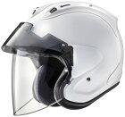 AraiアライジェットヘルメットVZ-RamPLUS[ブイゼットラムプラスグラスホワイト]ヘルメットサイズ:XS(54cm)