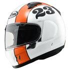 AraiアライフルフェイスヘルメットXDSTOUT[エックスディースタウトグラスホワイト]ヘルメットサイズ:XS(54cm)