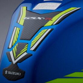 【在庫あり】US SUZUKI 北米スズキ純正アクセサリー カーボン & イエロー タンクパッド【Carbon & Yellow Tank Pad】 GSX-R1000