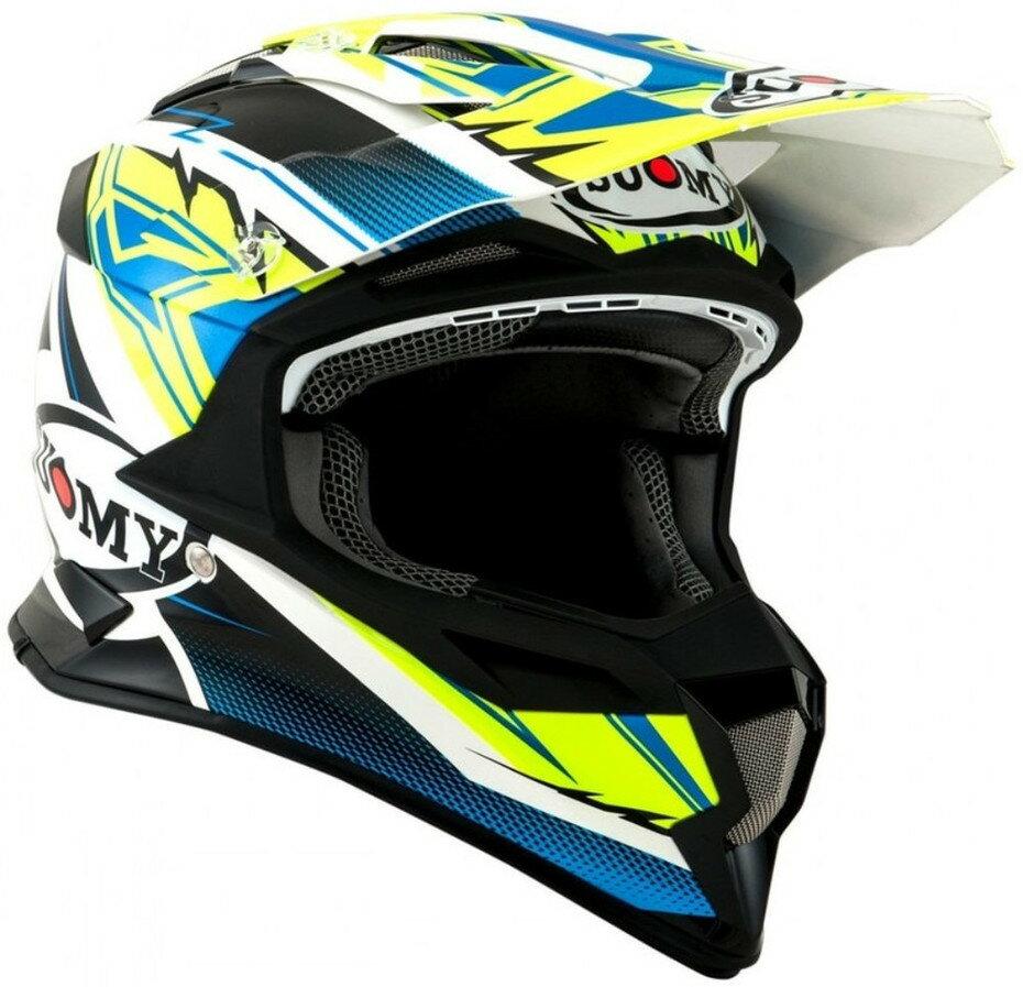 SUOMY スオーミー オフロードヘルメット ALPHA WAVES MATT ヘルメット サイズ:S(55-56)