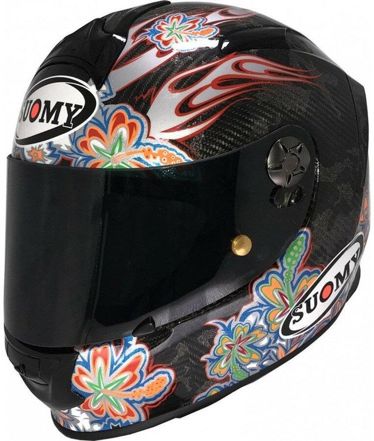 SUOMY スオーミー フルフェイスヘルメット SR-SPORT CARBON フラワー ヘルメット サイズ:L(59-60)