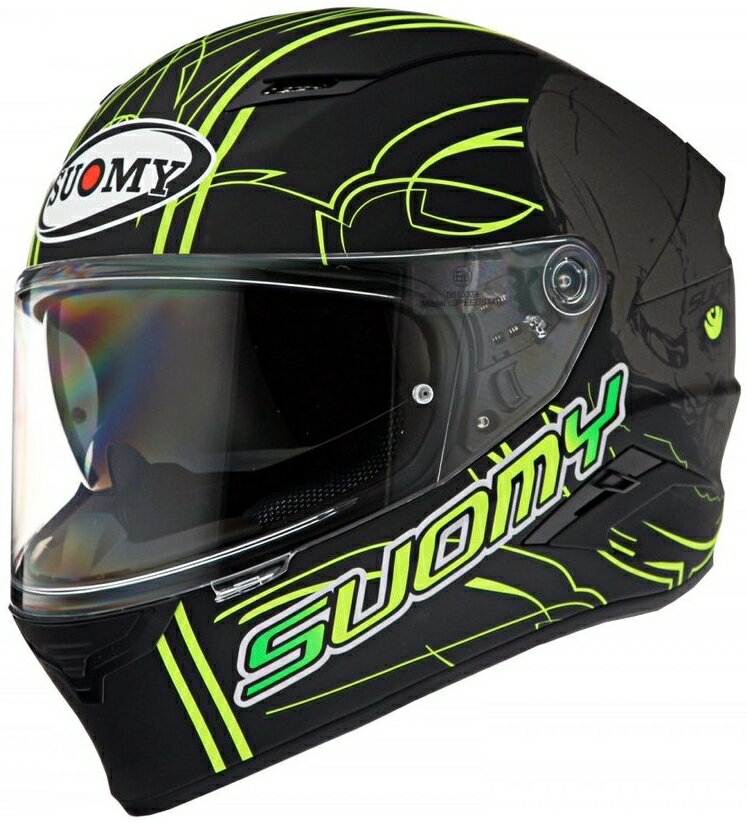 SUOMY スオーミー フルフェイスヘルメット SPEEDSTAR AMLET ヘルメット サイズ:XL(61-62)