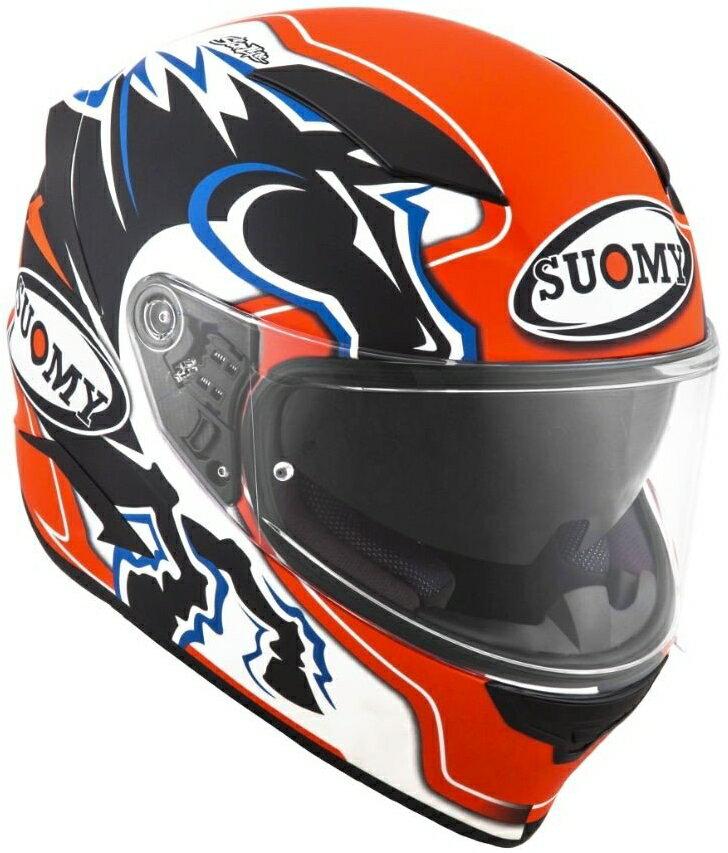 SUOMY スオーミー フルフェイスヘルメット SPEEDSTAR ZEROFOUR ヘルメット サイズ:L(59-60)
