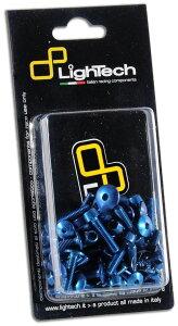 LighTech ライテック ボルトキット フレーム用 カラー:ブルー YZF-R6 YAMAHA ヤマハ