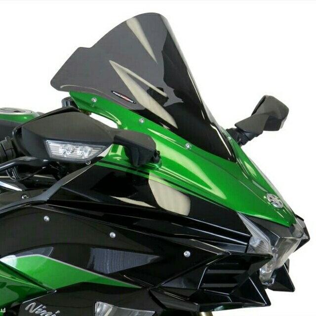 ODAX オダックス POWER BRONZE スポーツ・エアフロースクリーン カラー:ライト・スモーク ニンジャ H2 SX