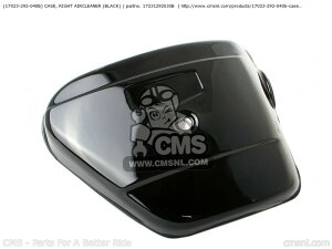 CMS シーエムエス エアクリーナー・エアエレメント (17023292040B) CASE, RIGHT AIRCLEANER (BLACK) CB450K1 1968 USA