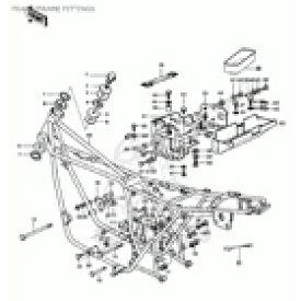 CMS シーエムエス エンジンマウントプレート、1h (Engine Mount Plate, lh) Z1