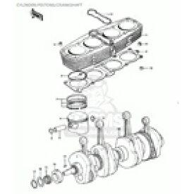 CMS シーエムエス ピストン・ピストン周辺パーツ ピストンピン (Piston Pin) KZ900