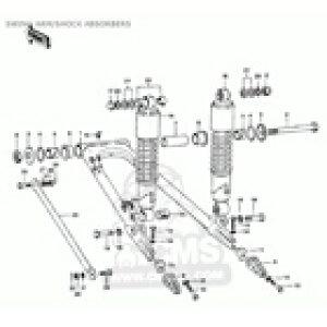 CMS シーエムエス スイングアーム チェーンアジャスターストッパー (Chain Adjuster Stopper) KZ900