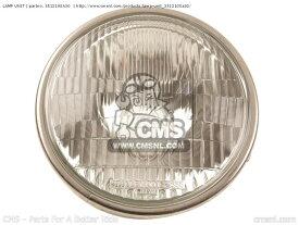 【ポイント5倍開催中!!】CMS シーエムエス ヘッドライト本体・ライトリム/ケース LAMP UNIT GS550L 1985 (F) USA (E03) GS550L 1986 (G) USA (E03)