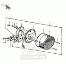CMS シーエムエス テールランプレンズ (Tail Lamp Lens) Z1