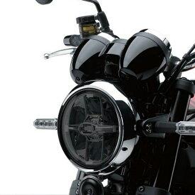 【在庫あり】ODAX オダックス ヘッドライト本体・ライトリム/ケース POWER BRONZE ヘッドライトレンズシールド カラー:スモーク Z900RS Z900RS CAFE