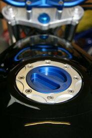 ODAX オダックス タンクキャップ OBERON フューエルフィラーキット カラー:レッド
