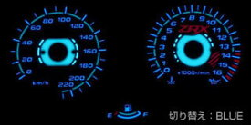 ODAX オダックス ELメーターパネル ZRX400 ZRX400II
