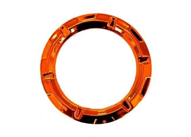 MOS モス スクーター外装 タンクカバー カラー:クロームオレンジ CYGNUS X