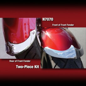 National Cycle ナショナルサイクル 鋳造フロントフェンダーティップ (2個1セット) (Cast Front Fender Tips 2-Piece Set)