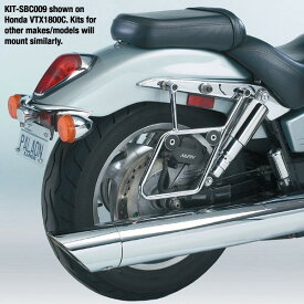 National Cycle ナショナルサイクル バッグ・ボックス類取り付けステー CRUISELINER(TM) マウントキット クローム (Cruiseliner (TM) Chrome Mount Kit)