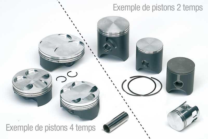VERTEX ヴァーテックス ピストン・ピストン周辺パーツ ピストン KX80 1988-1900用 (PISTON KX80 1988-1900【ヨーロッパ直輸入品】) Φ46.93mm