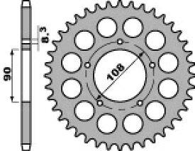 PBR ピービーアール スプロケット ACB steel crown【ヨーロッパ直輸入品】 丁数:38 PANTAH 500 (500) 80-84