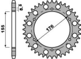 PBR ピービーアール リアスプロケット【Steel crown chain】【ヨーロッパ直輸入品】 丁数:43