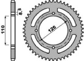 PBR ピービーアール スプロケット ACB steel crown chain【ヨーロッパ直輸入品】 丁数:47 KX65 (65) 02-17 RM65 (65) 04-07