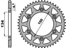 PBR ピービーアール スプロケット ACB steel crown【ヨーロッパ直輸入品】 丁数:42 KLX250 S (250) 06-10