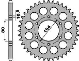 PBR ピービーアール スプロケット ACB steel crown【ヨーロッパ直輸入品】 丁数:39