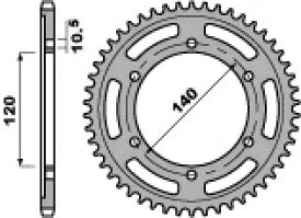 PBR ピービーアール スプロケット ACB steel crown【ヨーロッパ直輸入品】 丁数:44