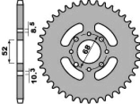 PBR ピービーアール スプロケット ACB steel crown【ヨーロッパ直輸入品】 丁数:33 DR-Z110 (110) 03-06 KLX110 (110) 03-09