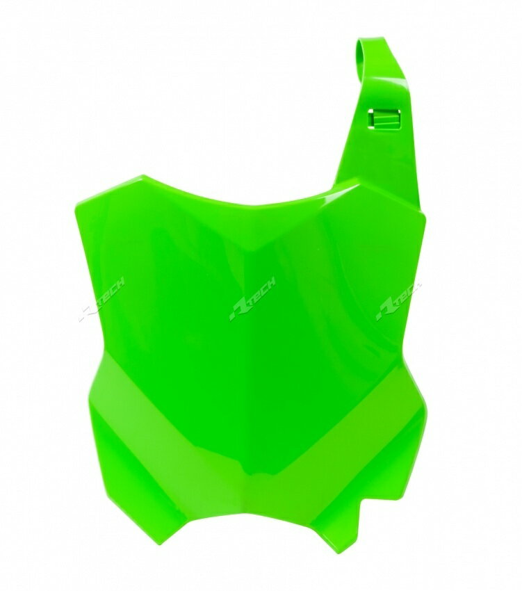 RACETECH レーステック ナンバープレート関連 フロントゼッケンプレート【Front Number Plate【ヨーロッパ直輸入品】】 KX250F (250) 17-18 KX450F (450) 16-18