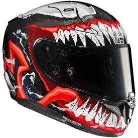 HJC エイチジェイシー フルフェイスヘルメット HJH166 RPHA 11 MARVEL VENOM 2(アルファ マーベル ヴェノム2) サイズ:M(57-58cm)
