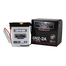 プロセレクトバッテリー Pro Select Battery オートバイ用6Vバッテリー R&P TL125 TL125イーハトーブ(TL125S) TLM50 TLR200 シャレット ノーティダックス 蘭