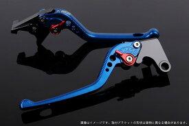 SSK:スピードラ エスエスケー:スピードラ アルミビレットアジャストレバーセット 3Dロング アジャスターカラー:レッド レバー本体カラー:ブルー NMAX