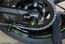 SSK:スピードラ エスエスケー:スピードラ ガード・スライダー リアアクスルスライダー カラー:レッド Ninja 650 Z900…