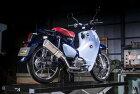 ヤマモトレーシングYAMAMOTORACINGフルエキゾーストマフラーSPEC-ATYPE-SAスーパーカブC125