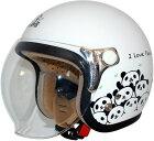 DAMMFLAPPERダムフラッパージェットヘルメットCARINA-カリーナ
