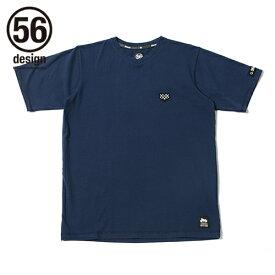 56design 56デザイン V-Neck Checker Heart Tee[ブイネック チェッカー ハート Tシャツ] サイズ:S