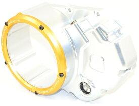 【イベント開催中!】 DUCABIKE ドゥカバイク エンジンカバー クリアクラッチカバーキット クラッチケース:シルバー/アウターリング:ゴールド MULTISTRADA 1200 [ムルティストラーダ] MULTISTRADA 1200S [ムルティストラーダ]