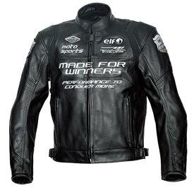 elf エルフ アパレル ELJ-A01 Sport Leather Jacket [スポルトレザージャケット] サイズ:3L