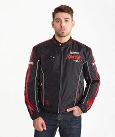 ポイント10倍! SIMPSON シンプソン ライディングジャケット NSW-1904 Urban Racing Jacket [アーバン レーシングジャケット] サイズ:4L