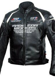 【在庫あり】elf エルフ アパレル EL-9243 Evoluzione PU Leather Jacket [エヴォルツィオーネPUレザージャケット] サイズ:LL